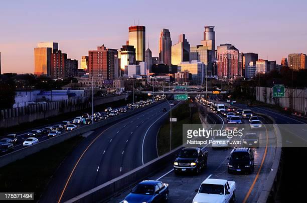 Rush Hour in Minneapolis