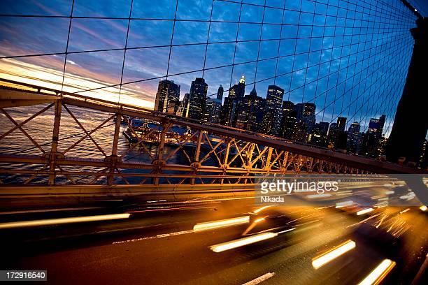 rush-hour in New York City