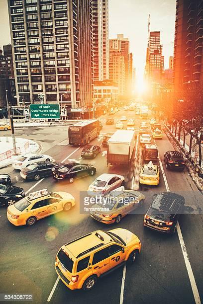 Rush Hour in New York City