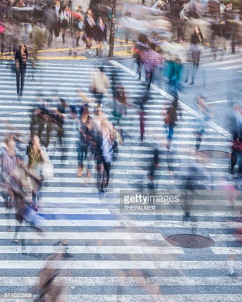 Rush hour in the city