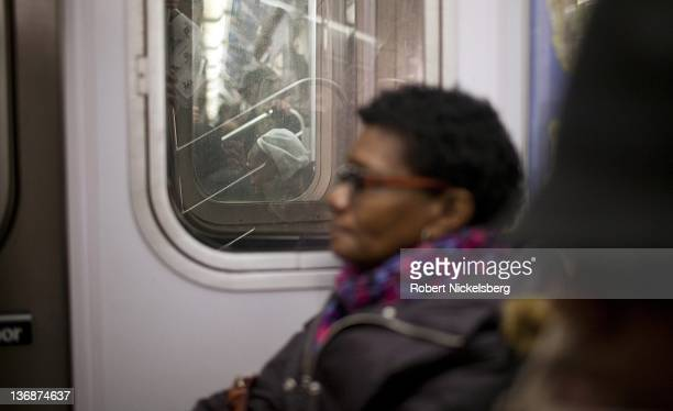 Rush hour passengers crowd into a New York City subway January 7 2012 In 2010 New York's subway system delivered over 16 billion rides averaging 5...