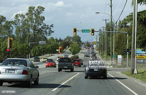 Rush Hour Traffic, 200 Street, Langley, British  Columbia, Canada