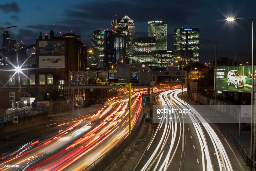 London's Rush Hour Traffic