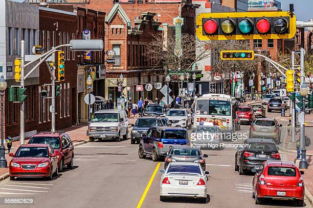 rush hours - moncton stock photos and pictures