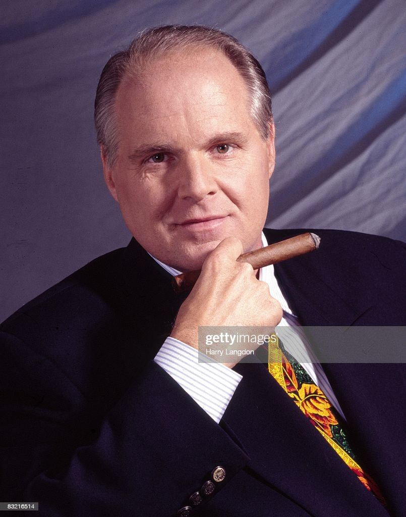 Rush Limbaugh poses for a Portrait on July 6th, 2005 in Los Angeles, California.