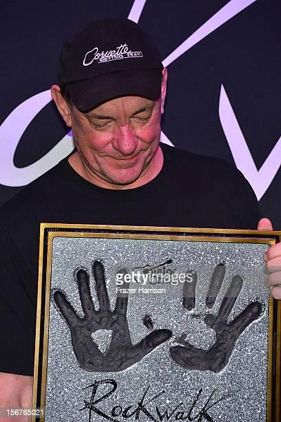 Rush Musician Neil Peart of Rush Honored On Guitar Center's RockWalk at Guitar Center on November 20 2012 in Hollywood California