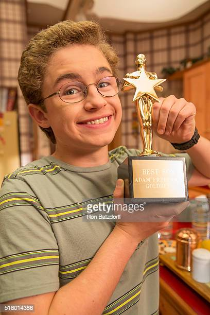 THE GOLDBERGS 'Rush' When Beverly gives Adam a 'best son' trophy Barry brings to her attention that she always favors Adam Appalled Beverly decides...