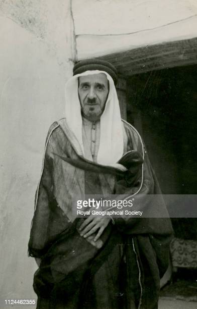 Rushdi bin Malhas 'The Little Palestinian Chef de Cabinet' Gerald de Gaury was a British military officer he was the British political agent in...