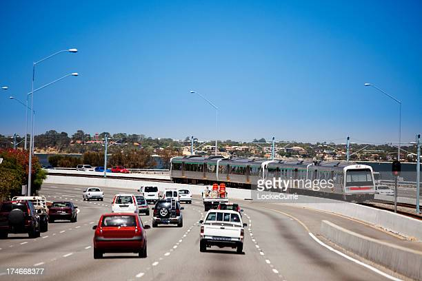 rush-hour - perth australia stock pictures, royalty-free photos & images
