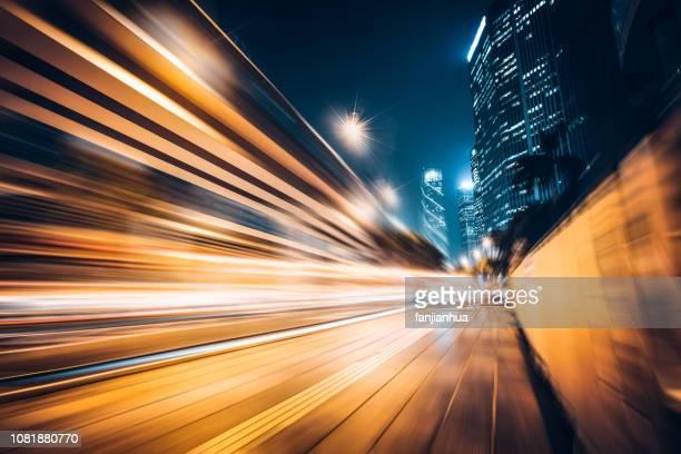 rush-hour traffic in downtown,guangzhou - província de guangdong - fotografias e filmes do acervo