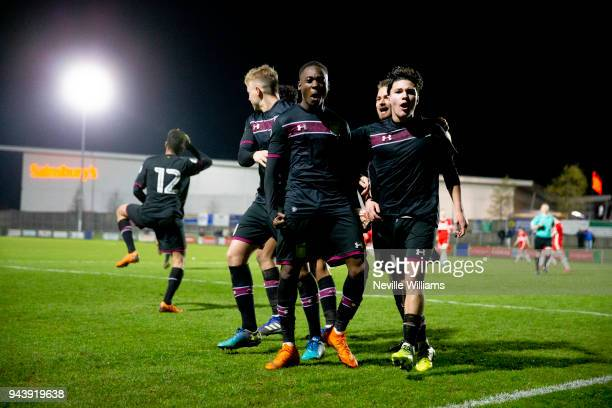 Rushian HepburnMurphy of Aston Villa scores his second goal for Aston Villa during the Premier League 2 Cup match between Middlesbrough and Aston...