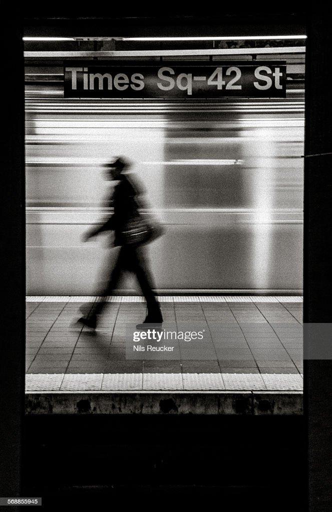 Rushing : Stock Photo