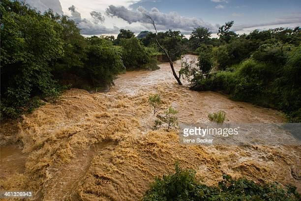 CONTENT] Rushing waters after afternoon's rain in Kajuru Kaduna State Nigeria