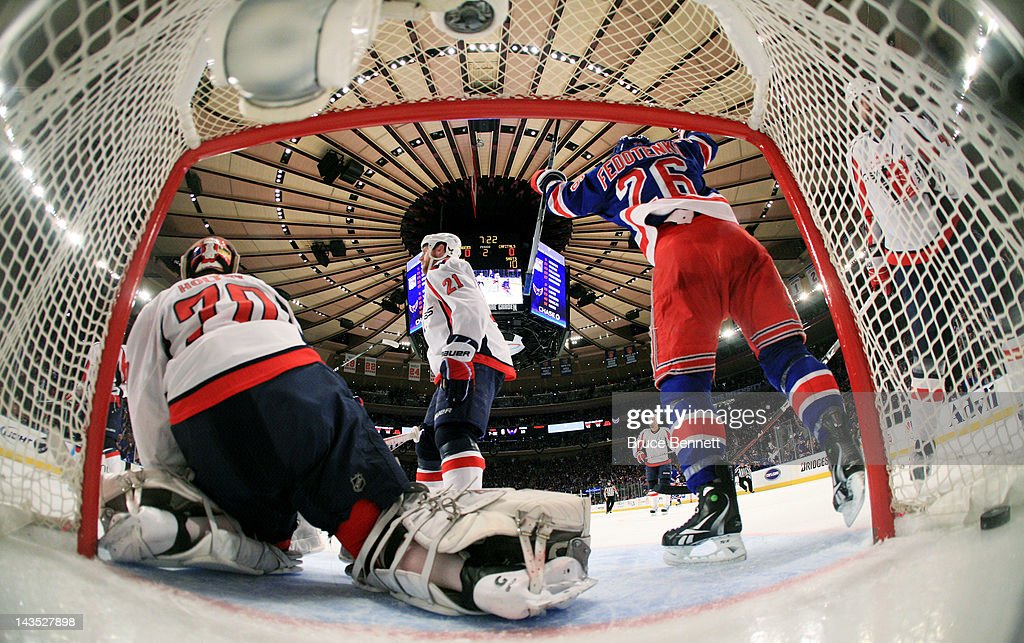 Washington Capitals v New York Rangers - Game One