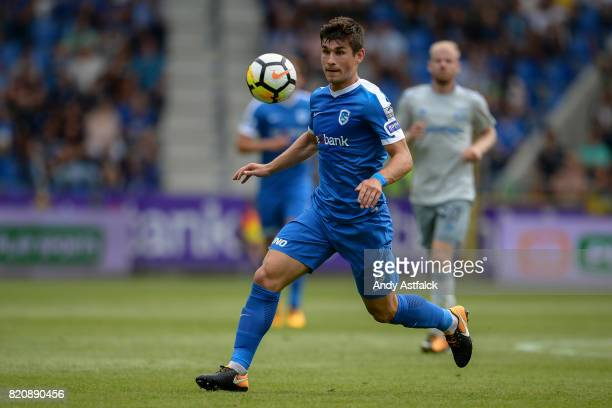 Ruslan Malinovskiy from KRC Genk during the PreSeason Friendly between KRC Genk and Everton at Cristal Arena on July 22 2017 in Genk Belgium
