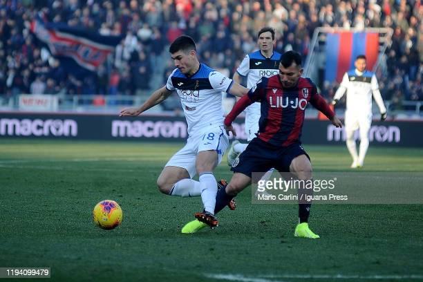 Ruslan Malinovskyi of Atalanta BC in action during the Serie A match between Bologna FC and Atalanta BC at Stadio Renato Dall'Ara on December 15 2019...