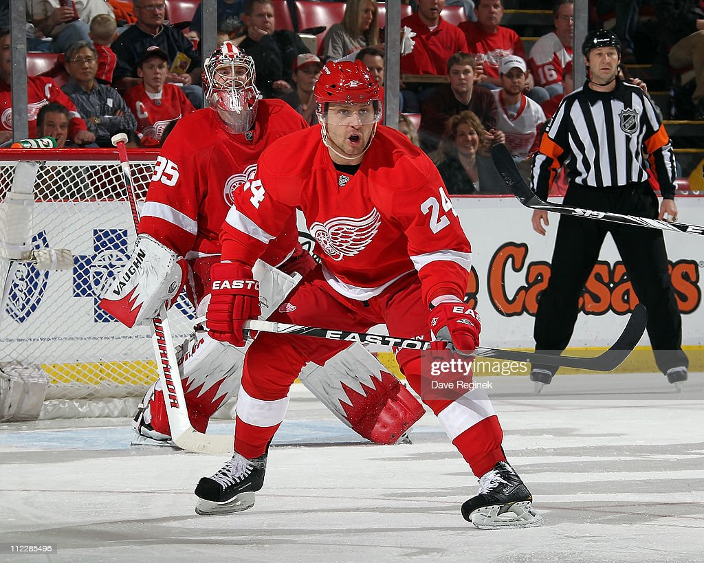 Phoenix Coyotes v Detroit Red Wings - Game One