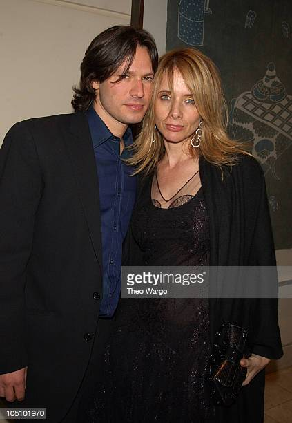 Russ Irwin and Rosanna Arquette during The 75th Annual Academy Awards Miramax After Party at St Regis Hotel in Los Angeles California United States