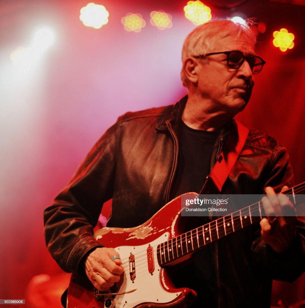 Russ Pahl of the rock band 'Dan Auerbach and the Easy Eye Sound Revue' performs onstage at the Obervatory on February 18, 2018 in Santa Ana, California.