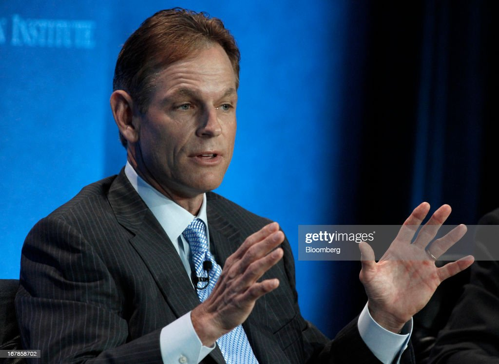 Russ Ramsey, chairman and chief executive officer of Ramsey Asset Management, speaks at the annual Milken Institute Global Conference in Beverly Hills, California, U.S., on Monday, May 1, 2013. The conference brings together hundreds of chief executive officers, senior government officials and leading figures in the global capital markets for discussions on social, political and economic challenges. Photographer: Jonathan Alcorn/Bloomberg via Getty Images