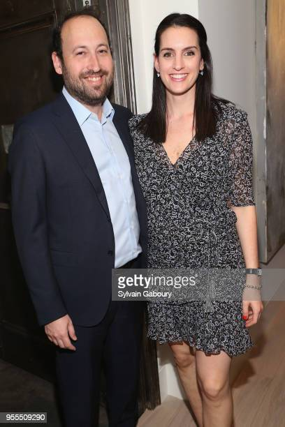 Russ Shattan and Emily Shattan attend Ambassador Grenell Goodbye Bash on May 6 2018 in New York City