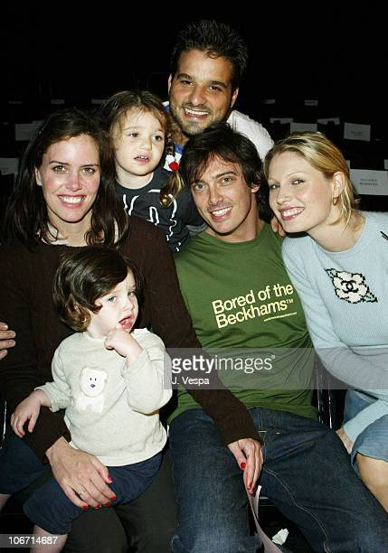 Russel and Antonia Steinberg Ione Skye and daughter Kate Donovan Leitch and Kirtsy Hume