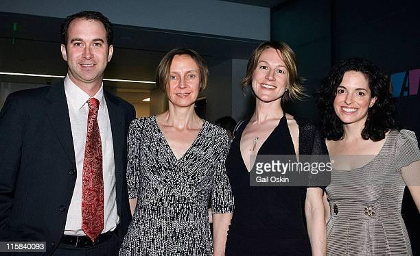 Russel LaMontagne, Caroline Meehan, Jen Mergel and Emily Moore Brouillet attend David Yurman's presentation of sponsors for the Institute of...