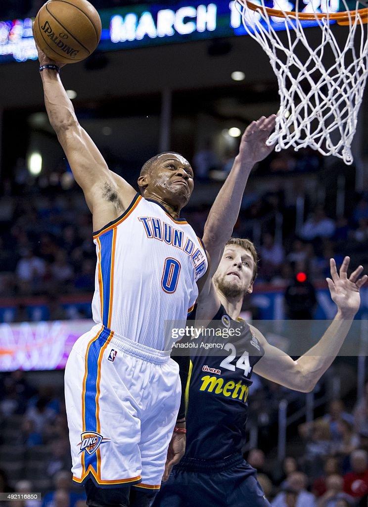 Fenerbahce Ulker v Oklahoma City Thunder : News Photo