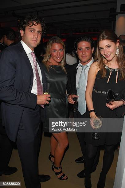 Russell Amy Berlin Jordan Weiss and Lindsay Cohen attend Free Arts NYC Fall Benefit hosted by Links of London and presented by Tracy Paul at The...