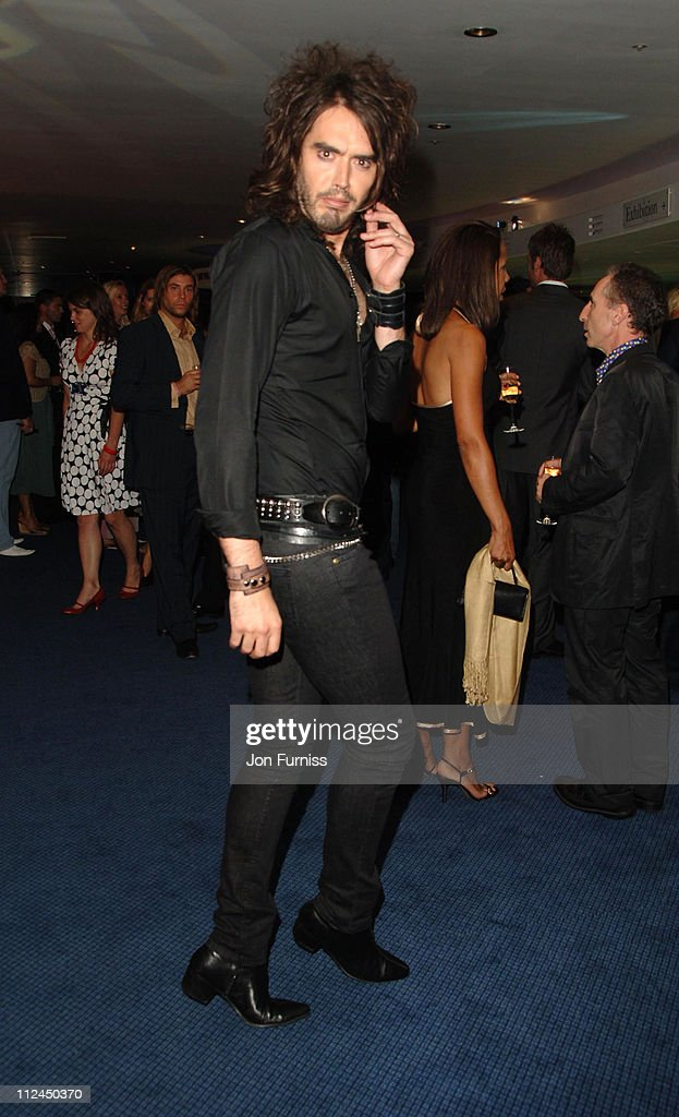 Russell Brand during GQ Men of the Year Awards - Drinks Reception at Royal Opera House in London, Great Britain.