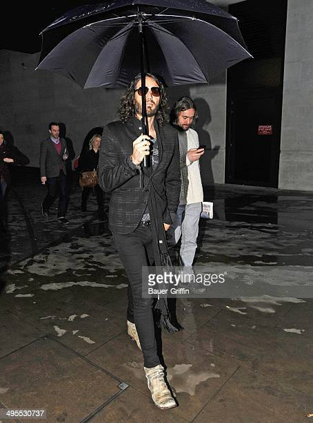 Russell Brand is seen on February 01 2013 in London United Kingdom