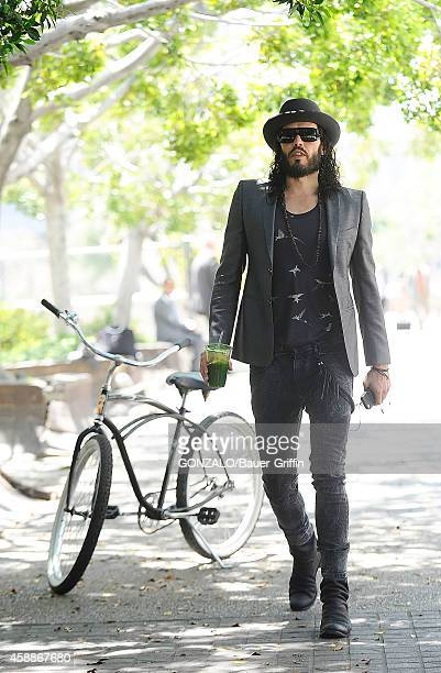 Russell Brand is seen on May 21 2012 in Los Angeles California
