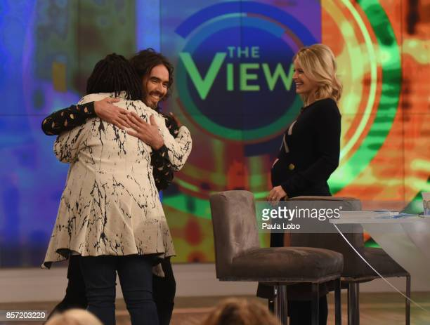 THE VIEW Russell Brand is the guest Tuesday October 3 2017 on Walt Disney Television via Getty Images's The View The View airs MondayFriday on the...