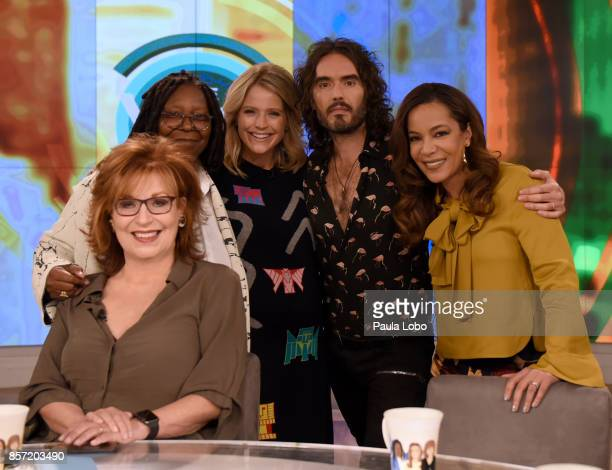 THE VIEW Russell Brand is the guest Tuesday October 3 2017 on ABC's 'The View' 'The View' airs MondayFriday on the ABC Television Network HOSTIN