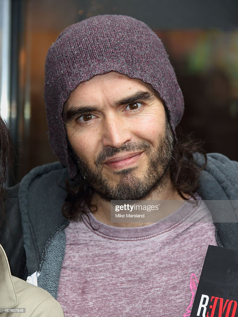 Russell Brand Opens The Trew Era Cafe