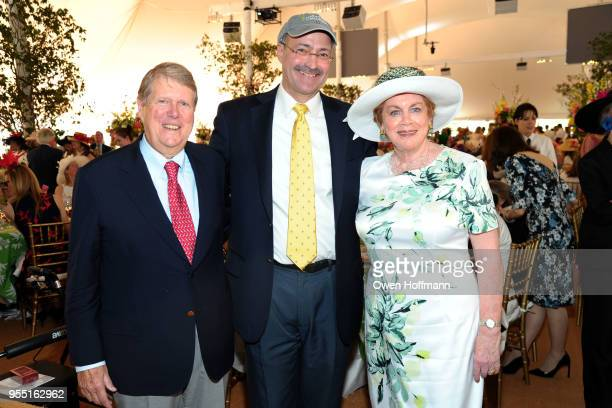 Russell Carson Doug Blonsky and Judy Carson attend 36th Annual Frederick Law Olmsted Awards Luncheon Central Park Conservancy at The Conservatory...