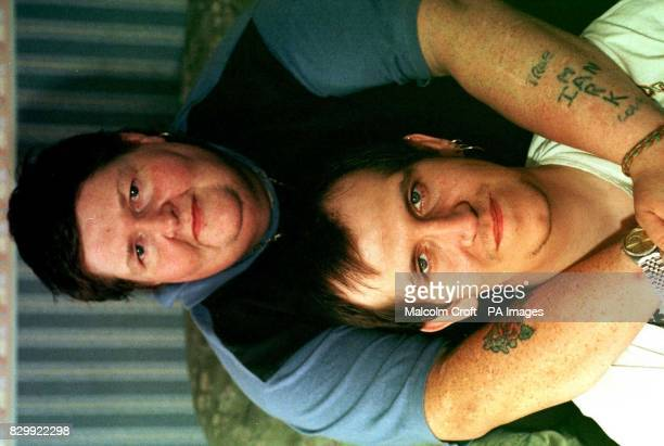 Russell Conlon and his partner from Collyhurst Manchester who are searching for a lesbian surrogate mother to have a baby for them after their...