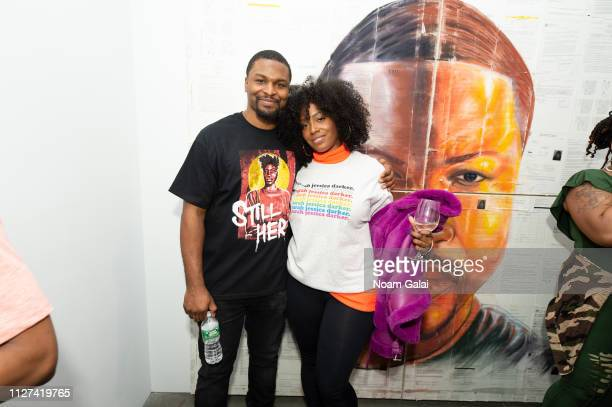 Russell Craig and Scottie Beam attend The OG Experience by HBO at Studio 525 on February 23 2019 in New York City