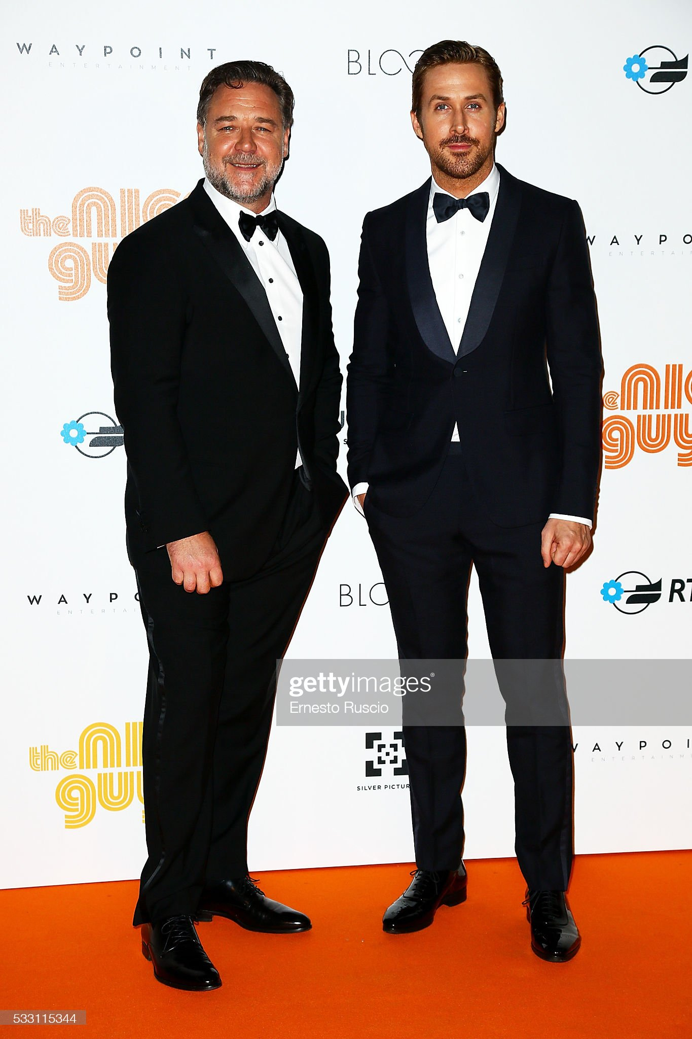 ¿Cuánto mide Russell Crowe? - Real height Russell-crowe-and-ryan-gosling-attend-the-the-nice-guys-premiere-at-picture-id533115344?s=2048x2048
