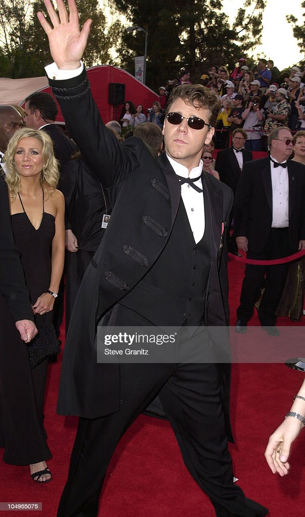 Russell Crowe during The 73rd Annual Academy Awards ...