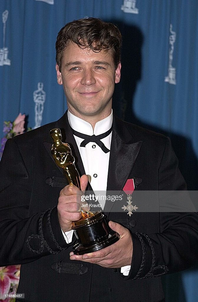 Russell Crowe during The 73rd Annual Academy Awards at ...