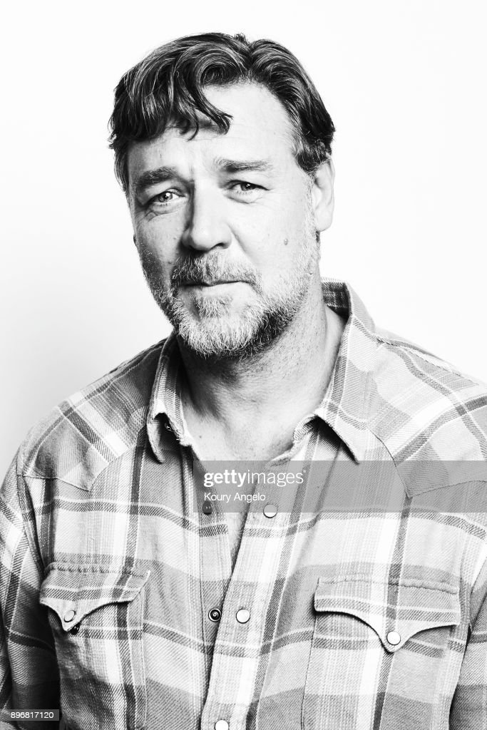 Russell Crowe is photographed for Warner Bros on March 9, 2016 in Los Angeles, California. PUBLISHED