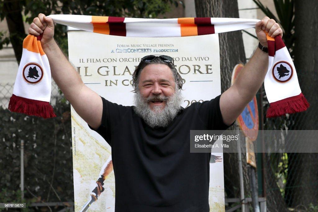 Il Gladiatore In Concerto  Presentation In Rome