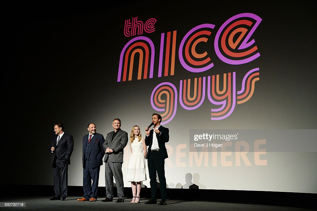 'The Nice Guys' - UK Premiere - VIP Arrivals : ニュース写真