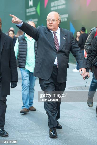 Russell Crowe seen on November 8 2018 in New York City