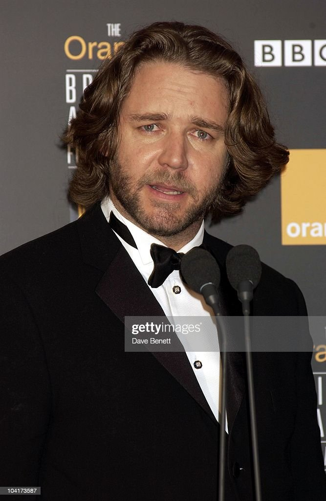 Russell Crowe, The Orange British Academy Film Awards (bafta) 2002, At The Odeon, Leicester Square, London