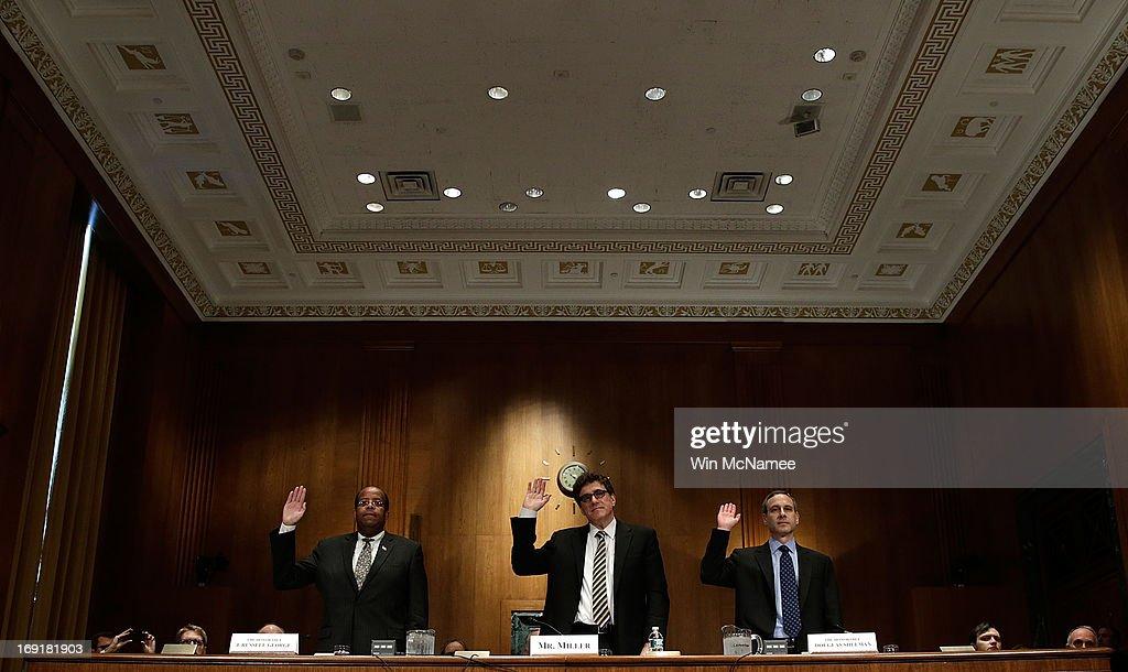 Senate Finance Committee Holds Hearing Recent IRS Screening Scandal