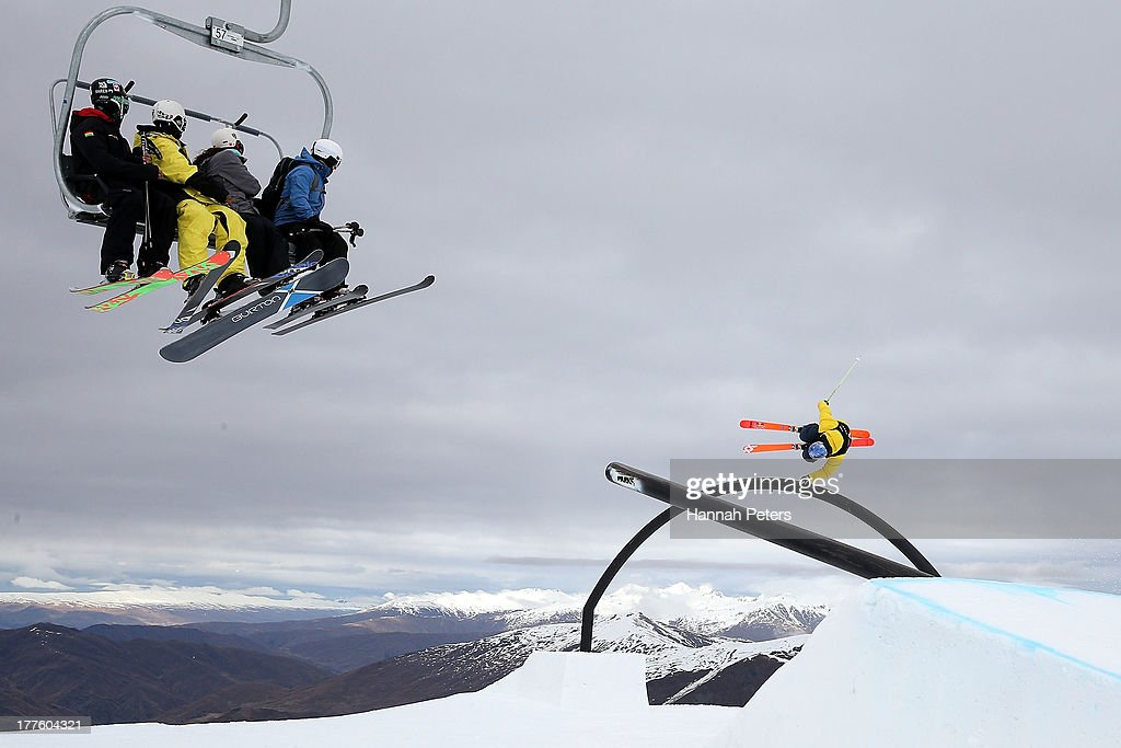 Winter Games NZ - Day 11: FIS Freestyle Ski Slopestyle World Cup Finals : News Photo