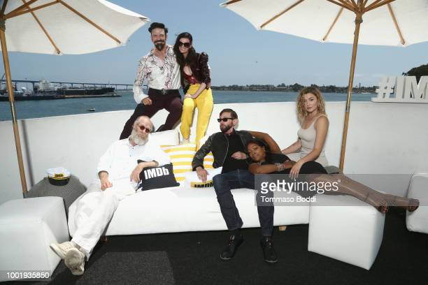 Russell Hodgkinson Keith Allan Lydia Hearst DJ Qualls Kellita Smith and Anastasia Baranova attend the #IMDboat At San Diego ComicCon 2018 Day One at...
