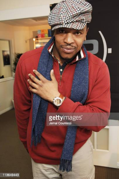 Russell Hornsby at Pippo Italia Watches at the Luxury Lounge